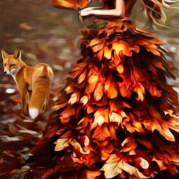wapautumnvibes autumnvibes autumncolors oilpaintingeffect autumnleaves