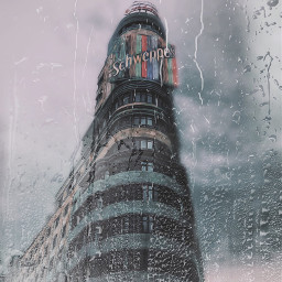 picsart edited space spain rain