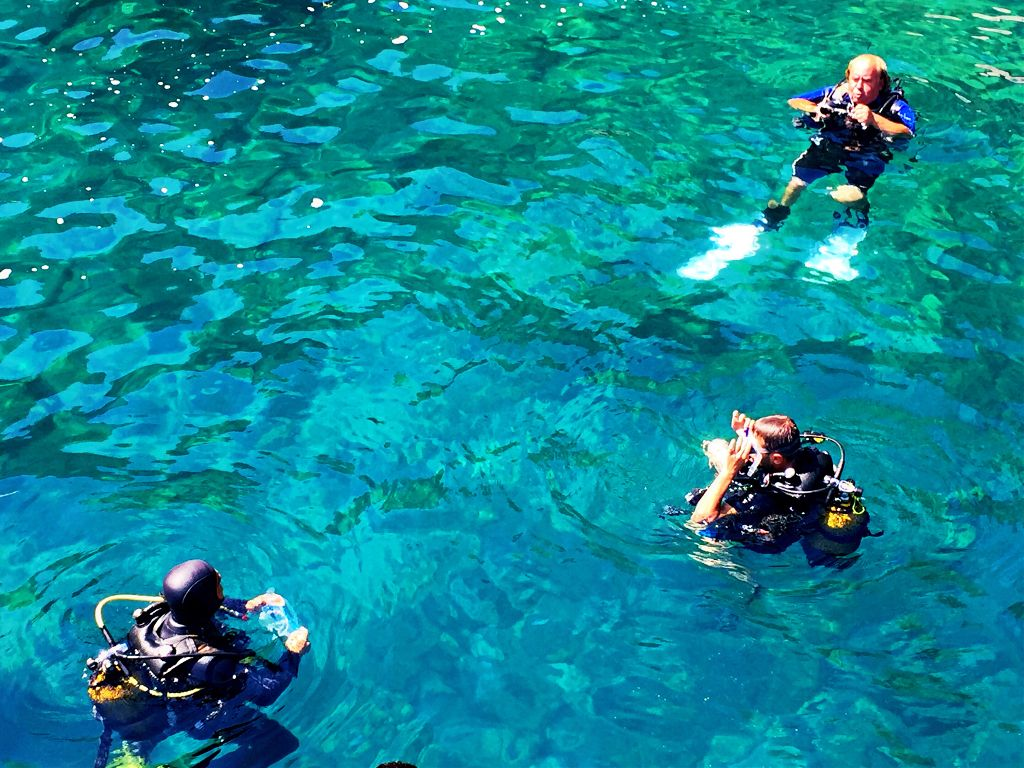 Plonger Sous Marine Turquie Marmaris