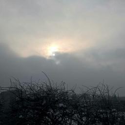 freetoedit poland snow sky clouds