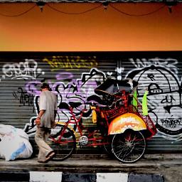jogjakarta beca indonesia_photography streetphotography