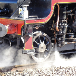 photography steamengine steam vapour wppprimarycolours
