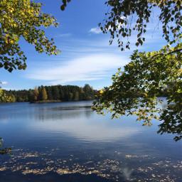 lake nature fall photography