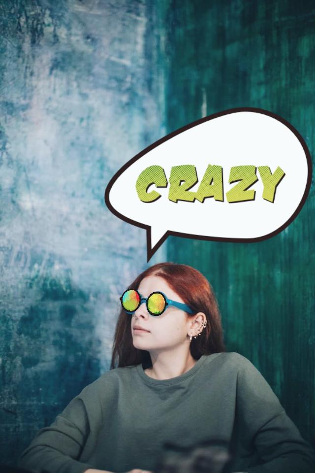 #FreeToEdit #randomremix #girl #crazy #photography #people #shadow #clipart #glasses