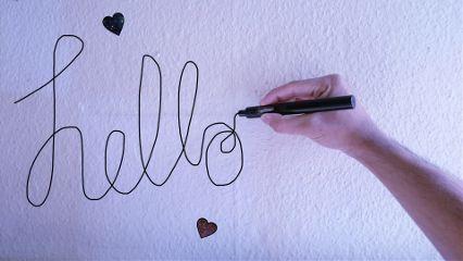 freetoedit remixed hello hearts wall