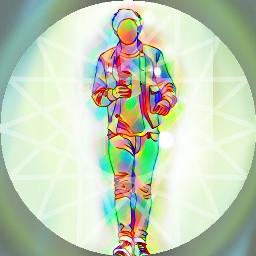 freetoedit remixme circle magic rainbow
