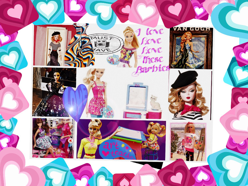 My favorite things in life barbies i love them love them love them #barbiegirlforlife