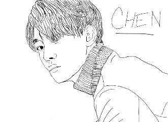 art drawing portrait people kpop