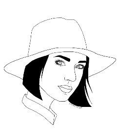 freetoedit draw drawwithpicsart girl hat